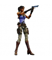 Figura Articulada Resident Evil 5, Sheva Alomar Play Arts Kai, 22 cm