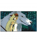 Wood Panel Laminage Studio Ghibli Princess Mononoke
