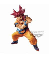 Figura Dragon Ball Super Son Goku SS God, Blood of Saiyans Special IV 17 cm