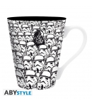 Taza Star Wars Troopers y Vader 340 ml