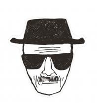 Alfombra Breaking Bad Heisenberg 80 x 84 cm