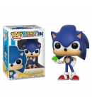 Pop! Games Sonic with Esmerald 284 Sonic the Hedgehog