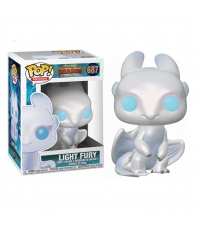 Pop! Movies Light Fury 687 How to Train your Dragon The Hidden World