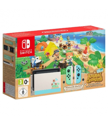 Consola Nintendo Switch Animal Crossing: New Horizons Edition