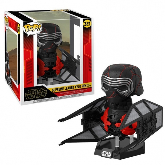 Pop! Supreme Leader Kylo Ren in the Whisper 321 Star Wars