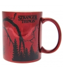 Taza Stranger Things Mind Flayer Metalizada 315 ml