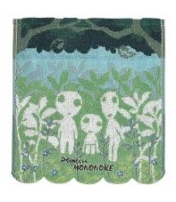 Towel Studio Ghibli Princess Mononoke Kodama 34 x 36 cm