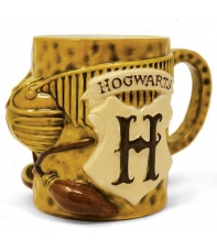 Taza Harry Potter 3d Quidditch 570 ml