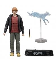 Figura Articulada con Accesorios Harry Potter, Ron Weasley 18 cm