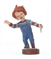 Figura El Muñeco Diabólico 2 Chucky Head Knockers 18 cm