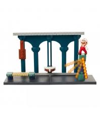 Playset con Figura Super Mario, Lava Castle