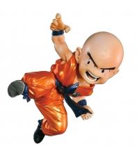 Figura Dragon Ball Krilin Metallic Color ver. Scultures 11 cm