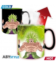 Taza Dragon Ball Super Broly y Gogeta, Sensitiva al Calor 460 ml