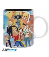 Taza One Piece Tripulación de Luffy 320 ml