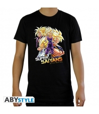 Camiseta Dragon Ball Z Super Saiyans Hombre