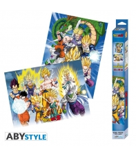 Pack 2 Posters Dragon Ball Z, 52 x 38 cm