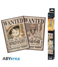 Pack 2 Posters One Piece Editon 1, 52 x 35 cm