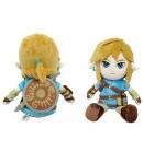 Peluche The Legend of Zelda, Link Breath of the Wild 21 cm