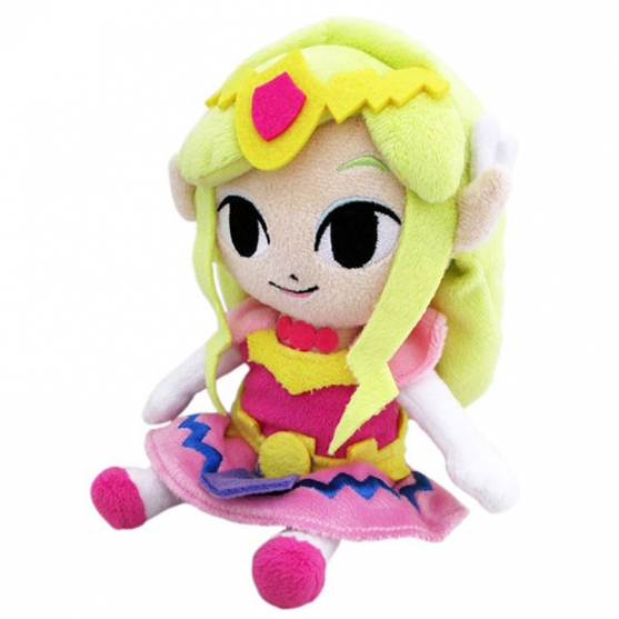 Peluche The Legend of Zelda, Princesa Zelda 17 cm