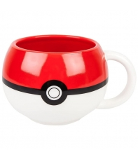 Taza Pokémon 3d Pokeball 320 ml
