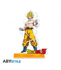 Figura Acrílica Dragon Ball Z Son Goku 10 cm
