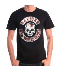 Camiseta The Walking Dead Saviors New World Order Hombre