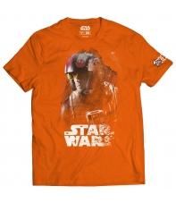 Camiseta Star Wars El Último Jedi X-wing Hombre