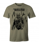 Camiseta Star Wars The Mandalorian Hombre