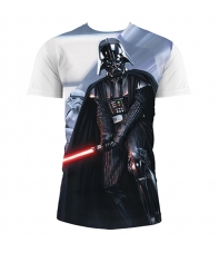 Camiseta Star Wars Darth Vader y Troopers Hombre