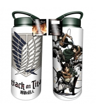 Taza de Viaje Attack on Titan 700 ml aprox
