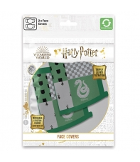 Pack 2 Mascarillas Harry Potter Slytherin