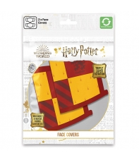 Pack 2 Mascarillas Harry Potter Gryffindor