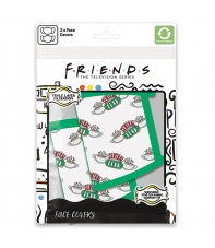 Pack 2 Mascarillas Friends Central Perk