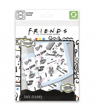 Pack 2 Mascarillas Friends Phrases