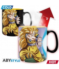 Taza Dragon Ball Z Goku Kamehame, Sensitiva al Calor 460 ml