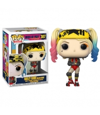 Pop! Heroes Harley Quinn Roller Derby 307 Dc Birds of Prey