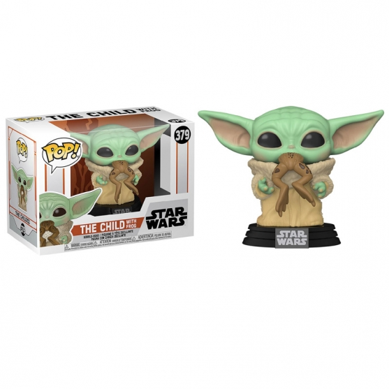 Pop! The Child with Frog 379 Star Wars The Mandalorian