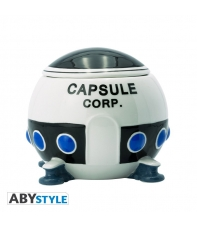 Taza Dragon Ball Z 3d, Nave Capsule Corp. 550 ml.