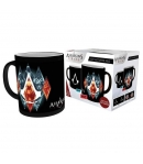 Taza Assassin's Creed Personajes, Sensitiva al Calor 460 ml