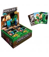 Paquete Sticker-Card Minecraft