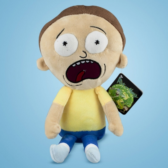 Peluche Rick and Morty, Morty Asustado 35 cm