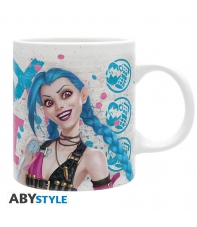 Taza League of Legends Vi vs Jinx 320 ml