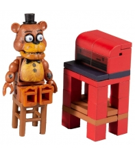 Mini Set Construcción Five Nights at Freddy's Freddy Fazbear with Parts and Service