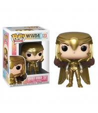 Pop! Heroes Wonder Woman Golden Armor 323 Dc WW84