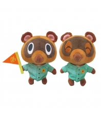 Peluches Animal Crossing New Horizons Tendo y Nendo (Timmy y Tommy) 13 cm