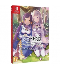 Re:ZERO Starting Life in the Another World The Prophecy of the Throne Collector's Edition