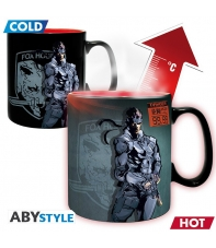 Taza Metal Gear Solid Snake, Sensitiva al Calor 460 ml