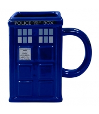 Taza Doctor Who 3d Cabina