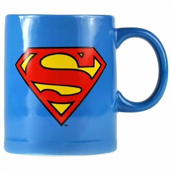 Taza Galletero Dc Superman 320 ml