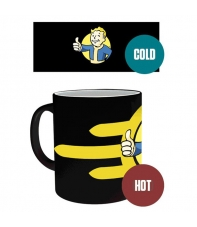Taza Fallout 4 Vault Boy, Sensitiva al Calor 300 ml